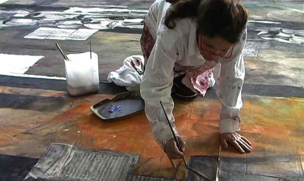 Dalva Duarte - 24 Caprices - Arist Atelier Workshop Saint-Priest Ardèche France
