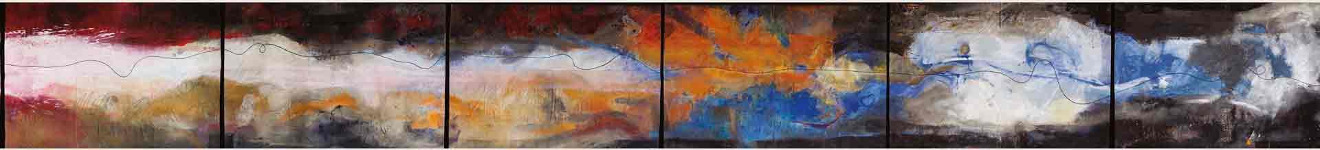 Dalva Duarte 24 Caprices - Abstract strip 05