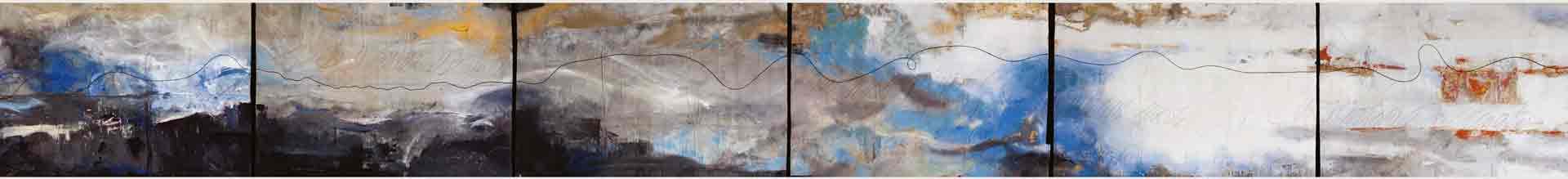 Dalva Duarte 24 Caprices - Abstract strip 06