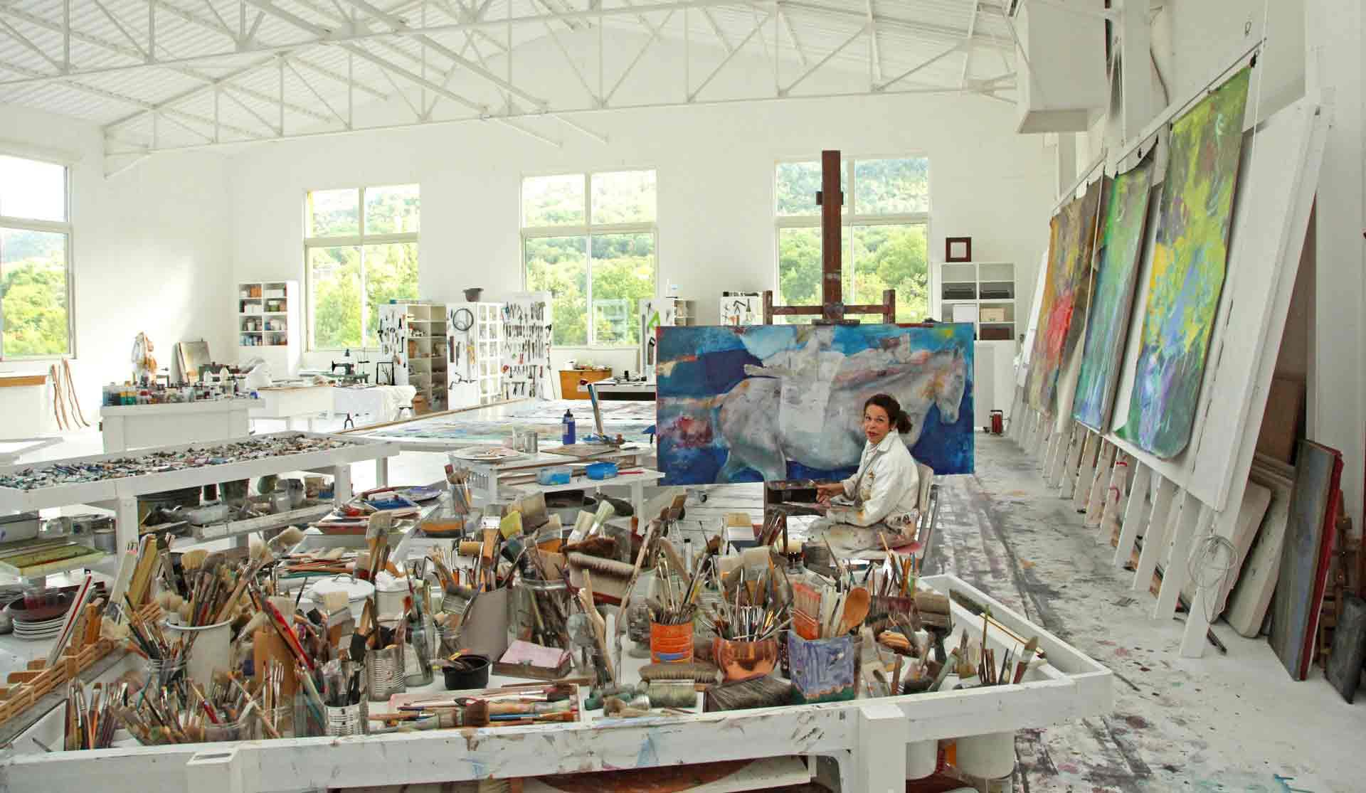 Dalva Duarte - Atelier Workshop Saint-Priest Ardèche France