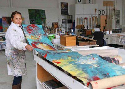 Dalva Duarte - Atelier Workshop Saint-Priest Ardèche France ©Jérôme Rolland
