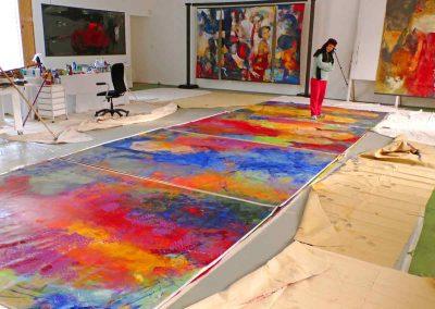 Dalva Duarte - The Fayoum - Atelier Workshop Saint-Priest Ardèche France