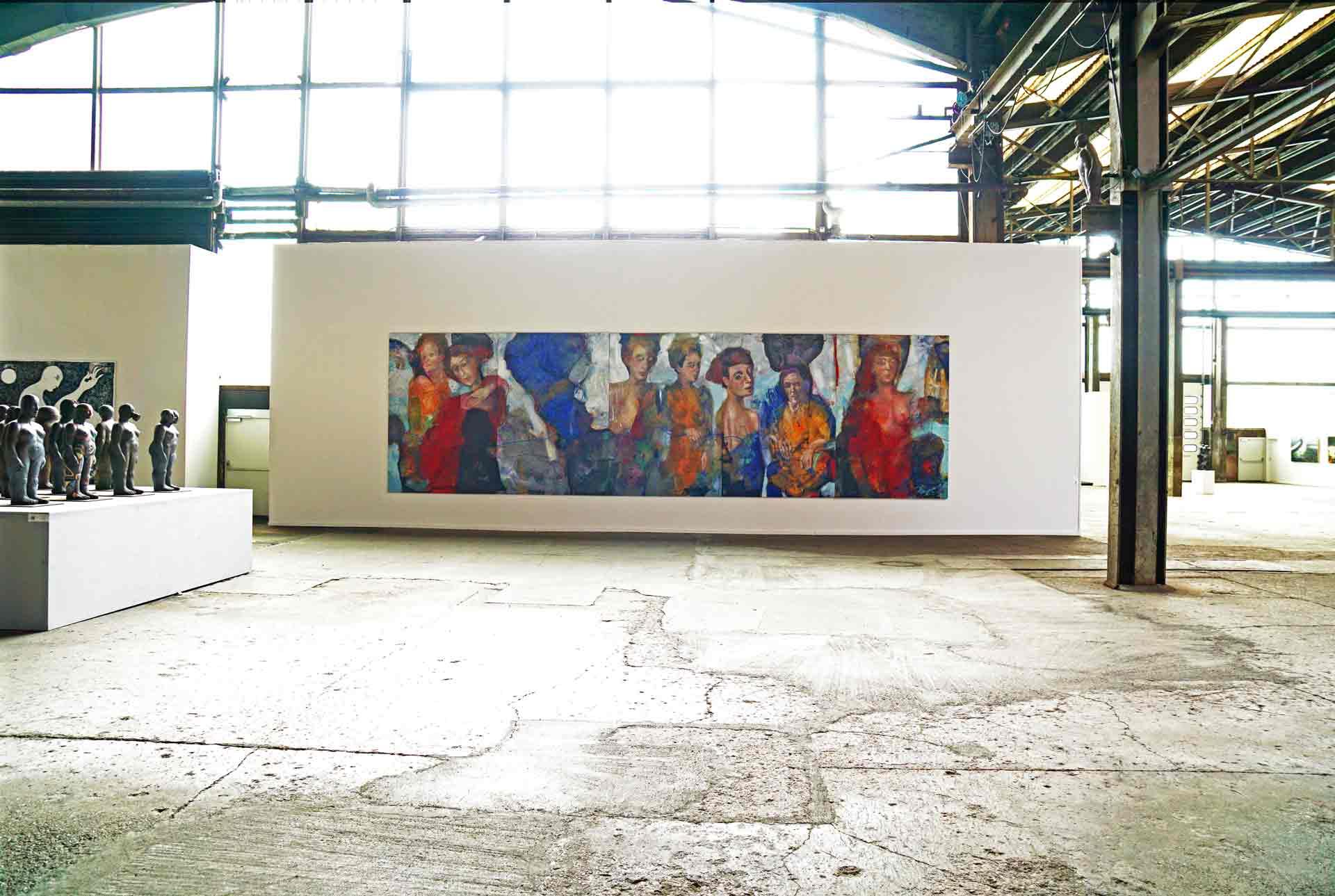 Dalva Duarte - The Fayoum - Artist Exhibition Exposition