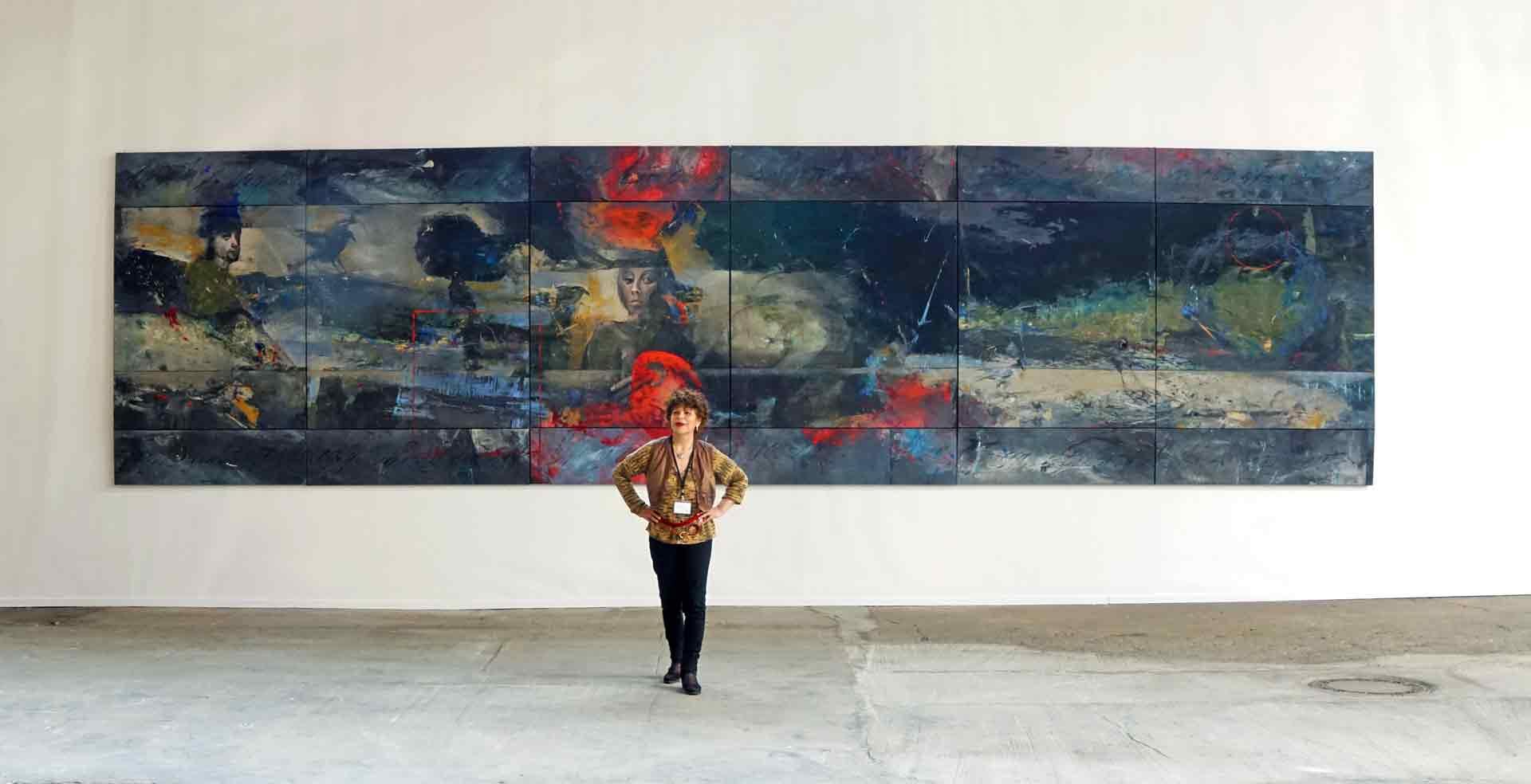 Dalva Duarte - Artist - The Queen of Chaos - Nordart - Exhibition in Germany - Exposition en Allemagne