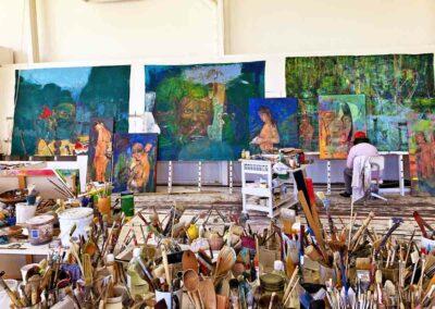 Dalva Duarte Amazonia - Atelier Workshop Saint-Priest Ardèche France
